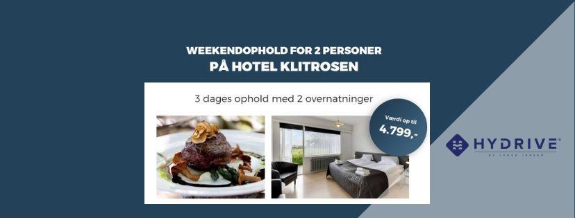 d4eb6e4fe5e Vind weekendophold for 2 personer på Hotel Klitrosen